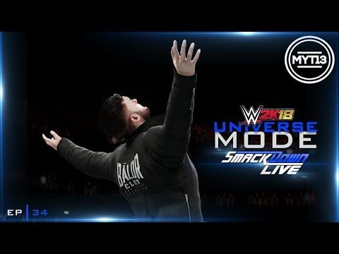 WWE 2K18 - Universe Mode - SmackDown - Ep 34 - Do It With Flair
