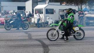 Drag racing Z1000, Hayabusa, KX500 @ VW Open 2010