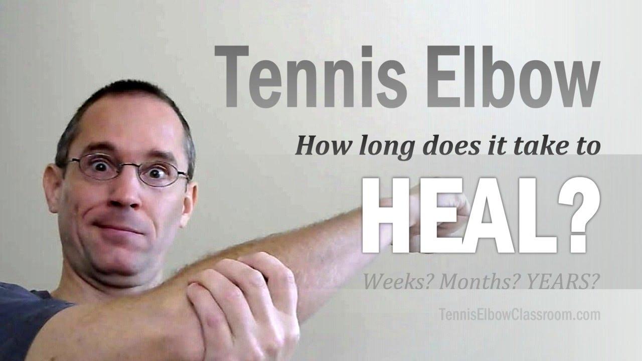 Tennis Elbow Healing: What's Taking So Long?