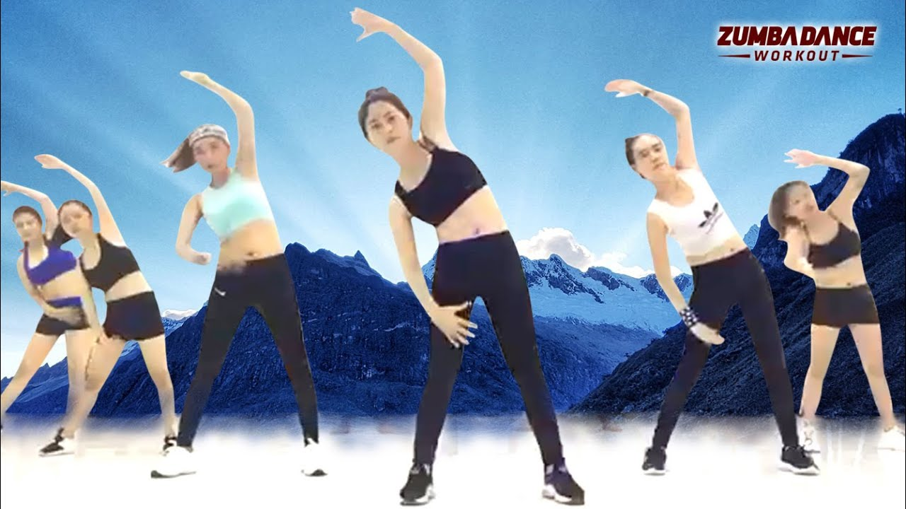 30 Mins Aerobic Dance Workout Step By Step l Zumba Dance Workout