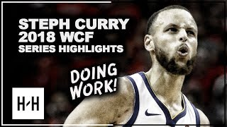 Stephen Curry EPIC Full Series Highlights vs Rockets | 2018 Playoffs West Finals