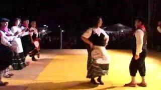 U mastru da ballu gruppo folcloristico Taranta Calabra.avi