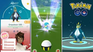 DIRECTO! COMMUNITY DAY de PIPLUP & EVOLUCIÓN de PIPLUP 100% !!  - Pokémon Go