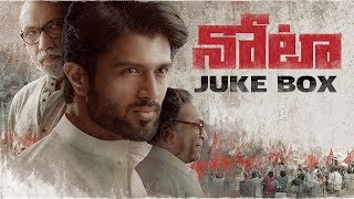 Video NOTA Jukebox - Telugu Full Songs | Vijay Deverakonda | Sam C.S | Anand Shankar download MP3, 3GP, MP4, WEBM, AVI, FLV Oktober 2018