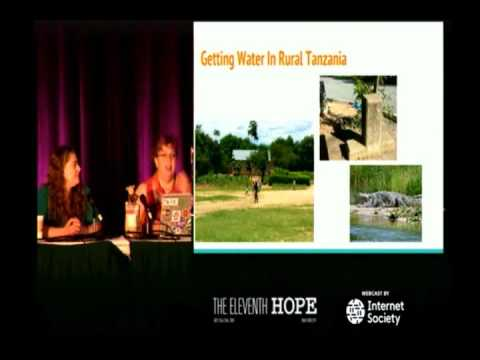 Chris Kubecka & Lisha Sterling - Water Security, De Nile or In Seine [HOPE XI]