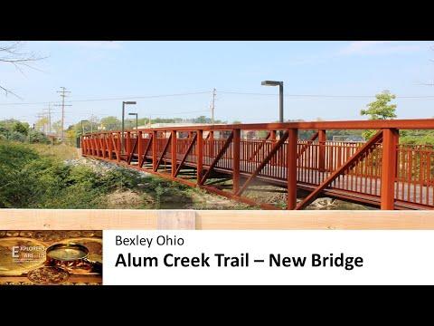 Alum Creek Trail   St Charles Preparatory School Bridge - Bexley Ohio