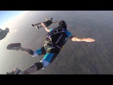 Tracking Dive at Skydive Dallas