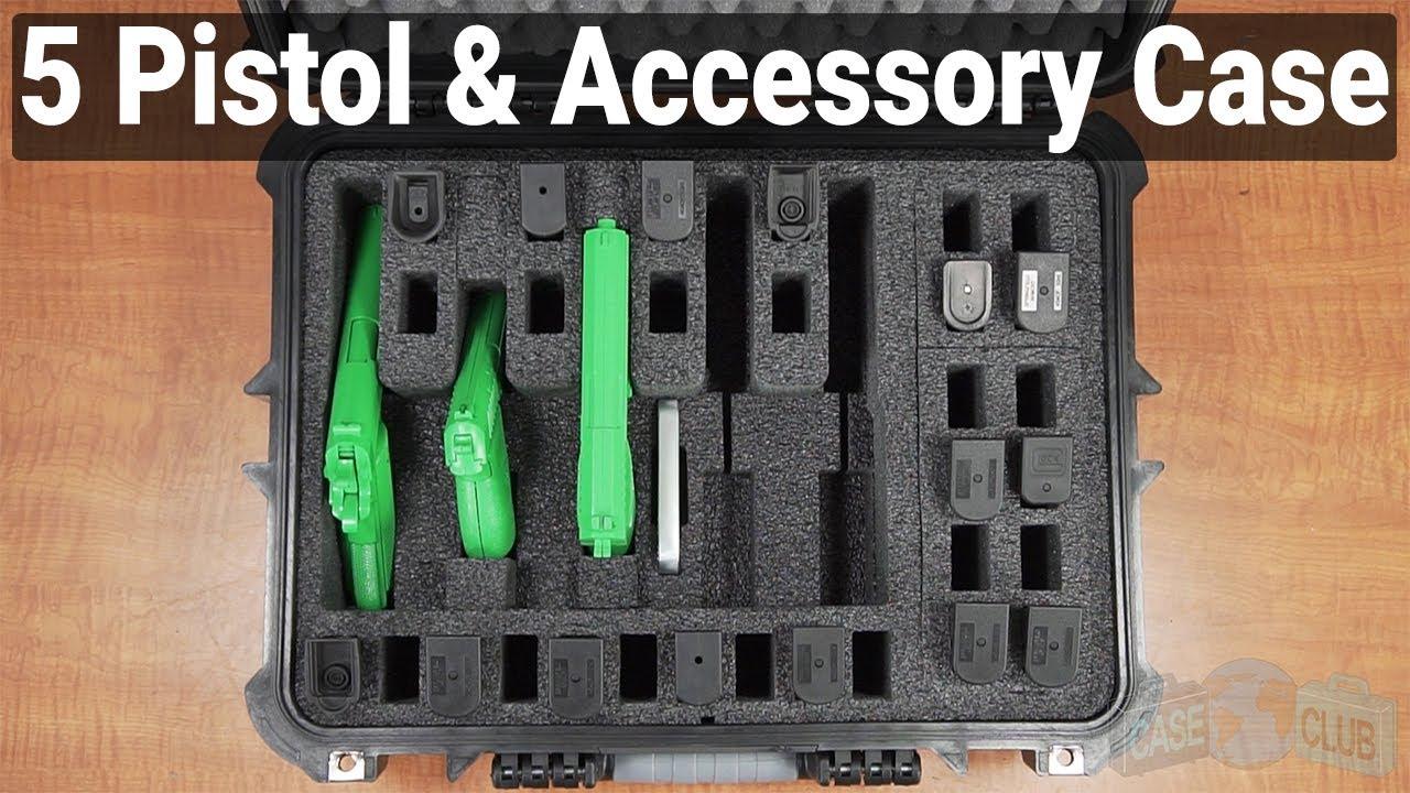 5 Pistol & Accessory Case - Video