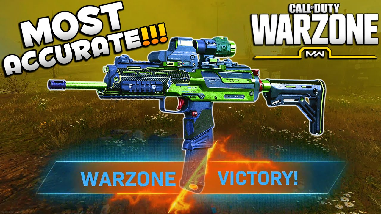 Most Accurate MP7 Loadout Lasers in WARZONE | Modern Warfare Best Class Setups | JGOD