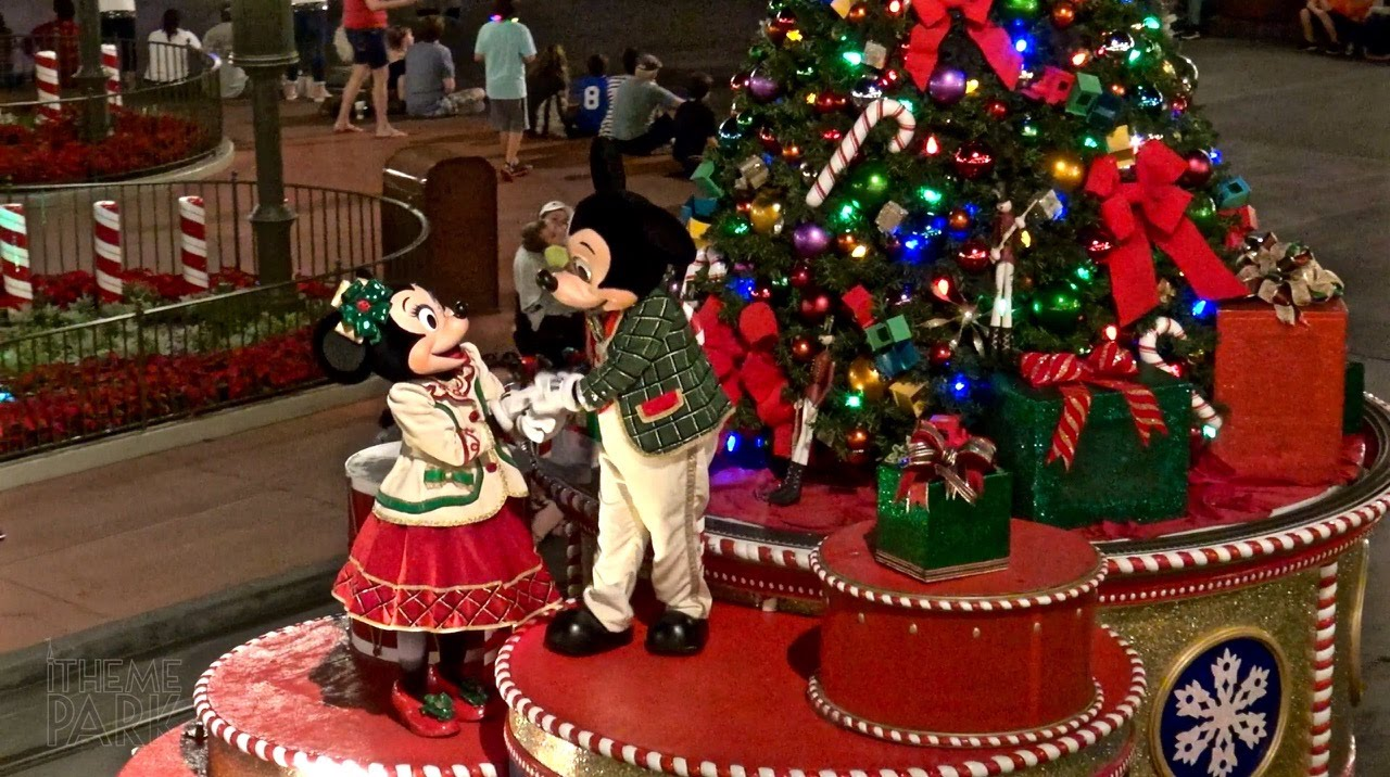 mickeys once upon a christmastime parade at mickeys very merry christmas party 2015 youtube - Disney Christmas Party 2015