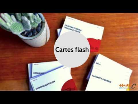 Créer Des Cartes Flash En Formation