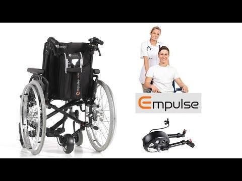 Sunrise Medical R20 Schiebehilfe, Extrem Leichte Rollstuhlschiebehilfe, Einzigartige Faltfunktion