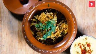 How to make Tawa Mutton Biryani