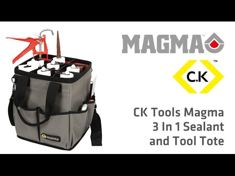 MA2637 CK Tools Magma 3 In 1 Sealant and Tool Tote