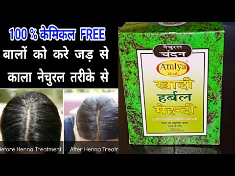 e5136323063dd Khadi Natural Herbal Black Mehndi Complete Review 😮😮 || Beauty With Easy  Tips
