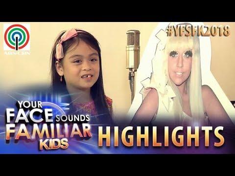 YFSF Kids 2018 Highlights: Esang De Torres as Lady Gaga | Week 1 Mentoring Session