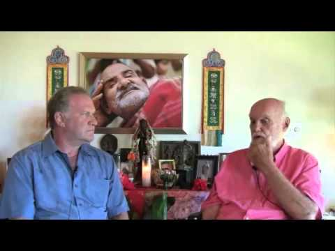 Puja Chat Ram Dass with Surya Das Part 1 of 4