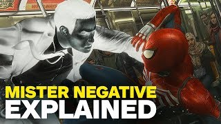 Spider-Man PS4 Villain Mister Negative Explained