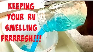 RVJedeye DIY: Two Tips for Keeping Your RV Smelling Fresh