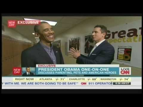 President Obama Interview with Chris Cuomo Syracuse New York (August 23, 2013) [2/3]