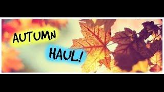 Autumn haul! Thumbnail