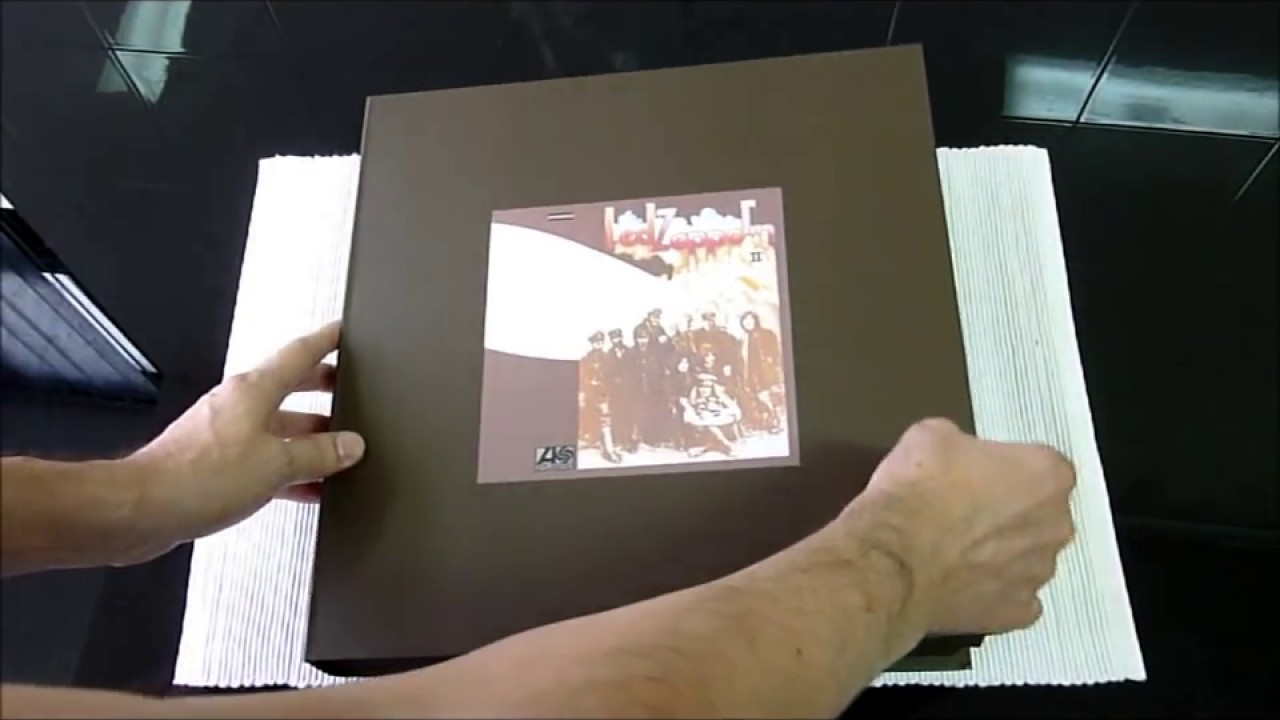 led zeppelin super deluxe edition box set 5 cd