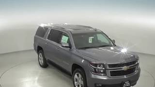 182552 - New, 2018, Chevrolet Suburban, LT, 4WD, Gray, SUV, Test Drive, Review, For Sale -