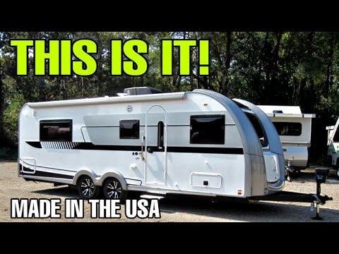 YOU'VE BEEN ASKING! Quality Travel Trailer RVs Are HERE! NuCamp Fiberglass Campers