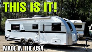 YOU'VE BEEN ASKING! Quality Travel Trailer RVs are HERE! NuCamp Fiberglass Campers Video