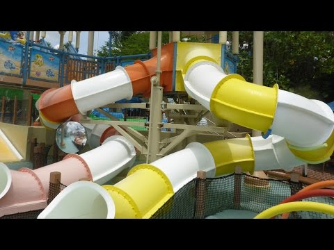 Wet 'n Wild Orlando - Tube Slides | Blastaway Beach Area