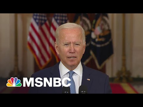 After Trump Bluster, Biden Ends War Drawing Praise From Liberal Icon Michael Moore
