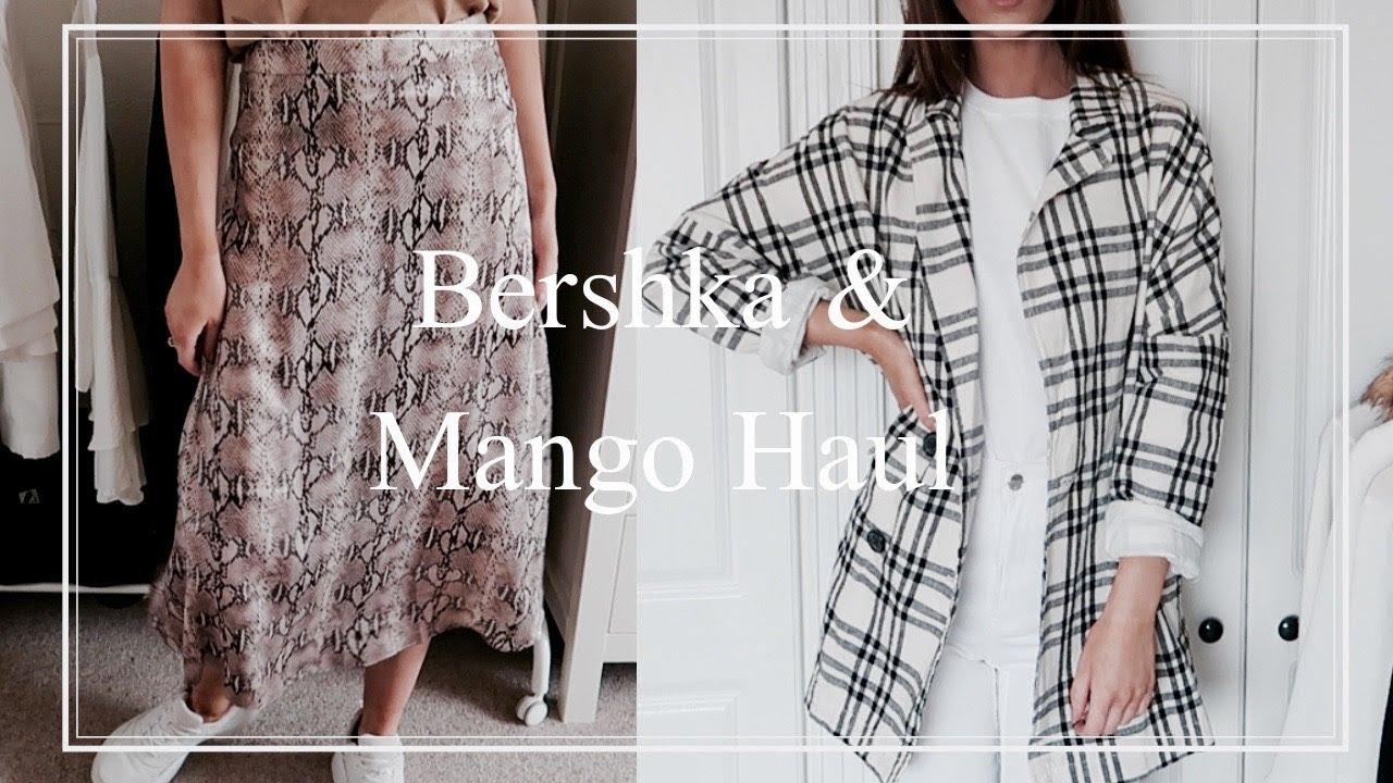 b52e24799 Bershka and Mango Haul | Try On 2019 - YouTube