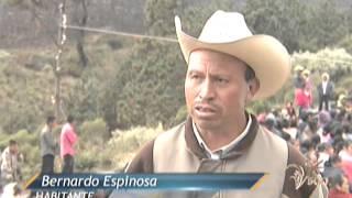 """Noticieros Televisa Veracruz - Ayuda a gente de volcán """"al calor de una sonrisa"""""""