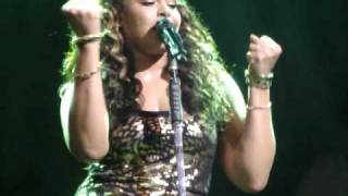 Jordin Sparks sings Watch You Go from her Battlefield Tour Live at ...