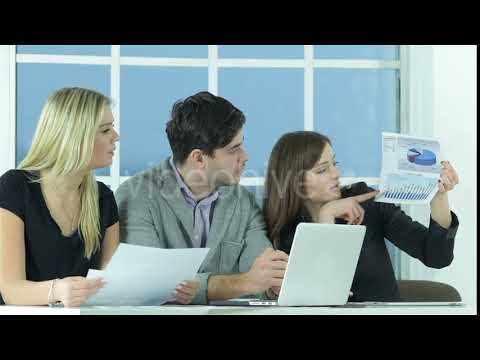 Confident Worker Business #stockfootage