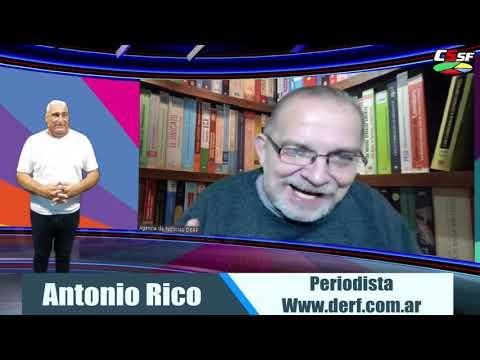 """Antonio Rico: """"La plata del Estado para la clase media alta es sólo ganancia para los que la reciben"""" concluyó Rico. Y tiene razón."""