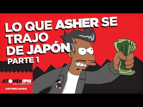 #ATOMIXJAPAN: LO QUE ASHER SE TRAJO DE JAPÓN [PARTE 1]