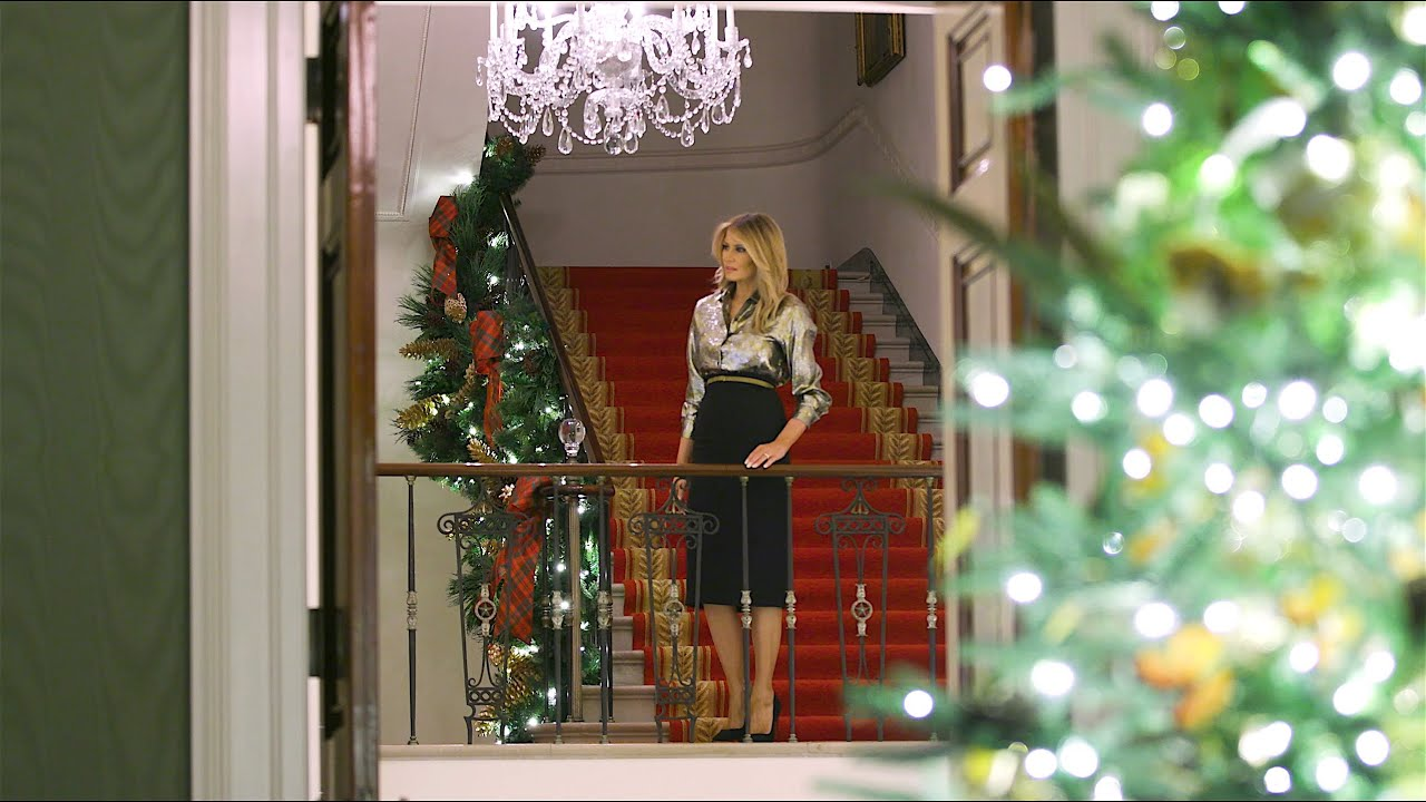 Melania Trump S Christmas Decorations Ranked Washingtonian Dc