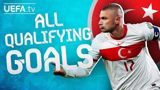 All TURKEY GOALS in their way to EURO 2020