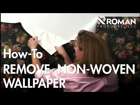 How to Remove Non-Woven Wallpaper