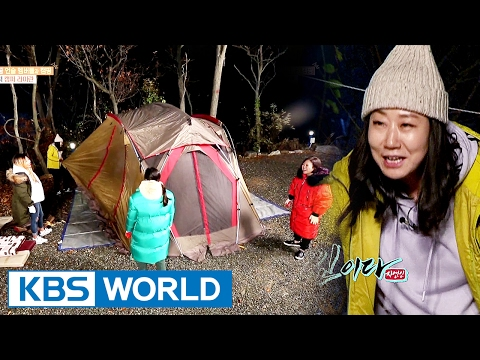 Going on a camp with La Miran, the camping expert [Sister's Slam Dunk/2017.02.03]