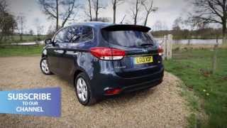 New Kia Carens 2013 - Which? Car first drive