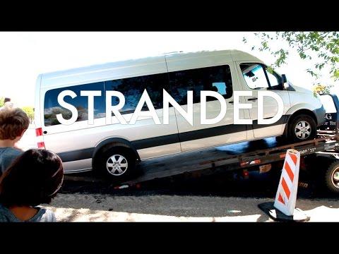THE BUS BREAKS DOWN : Travel Full-time w/9 kids