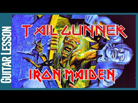 Tailgunner By Iron Maiden - Guitar Lesson Tutorial