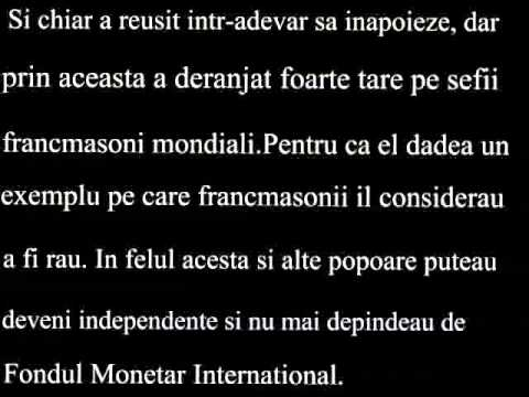Ceausescu si masoneria