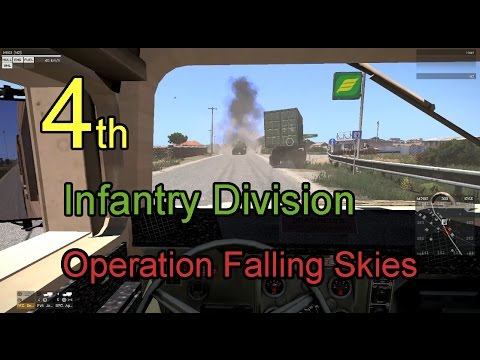 ArmA 3 4th Infantry Division Operation Falling Skies