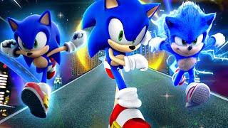 The Sonic Adventure Sonic Trio