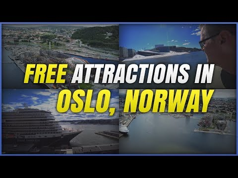 NORWAY: FREE attractions in Oslo! DRONE VIEWS