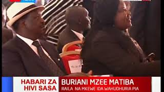 Video Raila ahudhuria ibada ya wafu ya Mzee Kenneth Matiba download MP3, 3GP, MP4, WEBM, AVI, FLV Oktober 2018