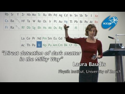 """Direct detection of dark matter in the Milky Way"" by Laura Baudis"